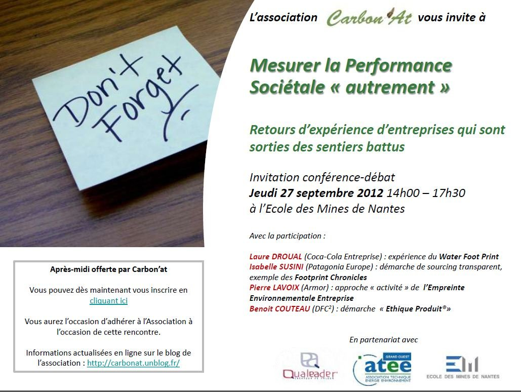 Invitation de la conférence débat du 27 septembre est disponible ! dans Evènement Capture