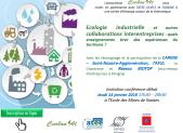 Invitation soirée «Ecologie Industrielle» du 14/1/16 est en ligne